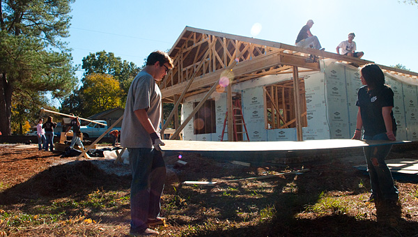 Alabaster is seeing a surge in its number of new home building permits. (File)