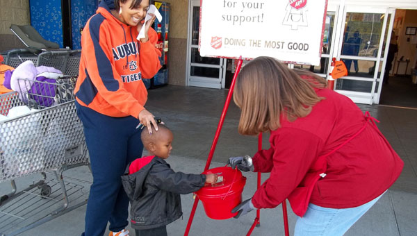 The Salvation Army of Chilton and Shelby counties is looking to overcome a significant fundraising deficit before Christmas. (File)