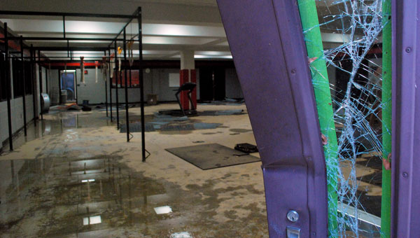 The Shelby County School System recently completed upgrades to Thompson High School after the school's weight and locker rooms flooded multiple times over the summer of 2012. (File)