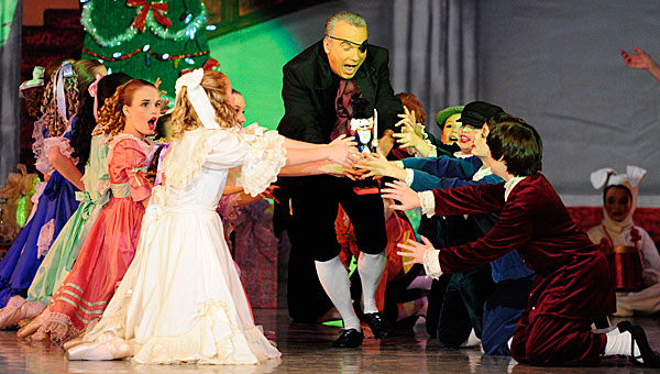 The Alabama Youth Ballet Guild will bring The Nutcracker to Pelham High School for the ninth straight year from Dec. 14-15. (File)