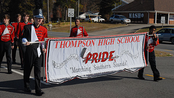 The Thompson High School Marching Southern Sounds is working to raise money to purchase new uniforms. (File)