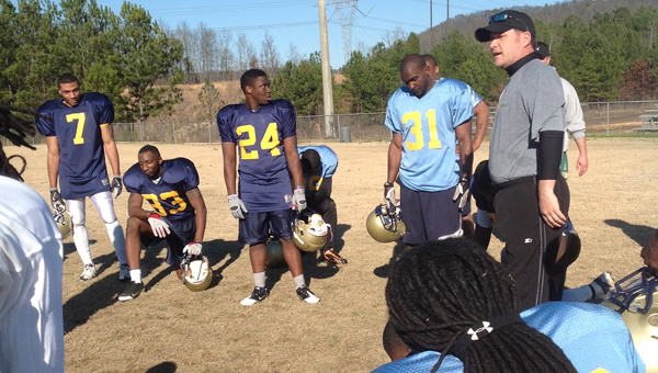 The Alabama Crusaders will open their home season on March 2 at Pelham High School's Ned Bearden Stadium. (Contributed)