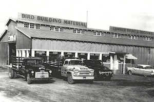 Bird Building Material in 1957. (Contributed)