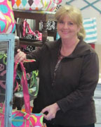 Janice Young with Monograms 'n More offers a vast array of personalized gifts. (Contributed)