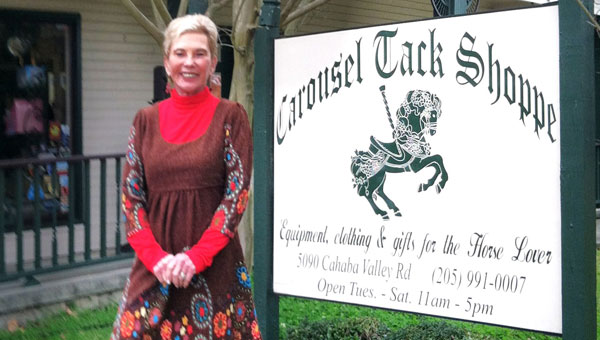 Carousel Tack Shoppe Owner Rita Mendel. (Contributed)