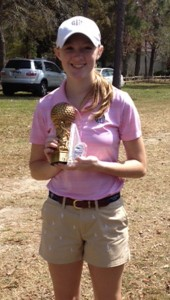Pelham's Grayson Gladden won two tournaments March 23-25. (Contributed)