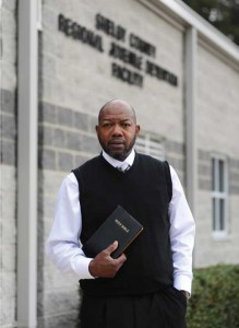 Leslie Whiting is chaplain of the Shelby County Jail.