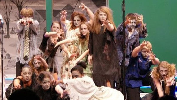 "The HMS Music Machine ""Zombie"" Show Choir will perform at a dessert cabaret April 6. (Contributed)"