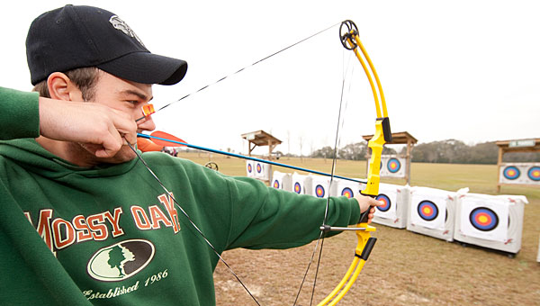 The Alabaster Senior Center will work with the Alabama Department of Conservation and Natural Resources to offer an archery class on April 9. (Contributed/Alabama Department of Conservation and Natural Resources)
