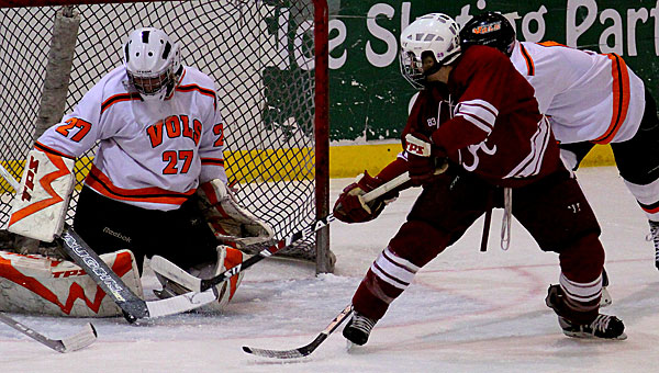 The South Eastern Collegiate Hockey Conference tournament will return to the Pelham Civic Complex and Ice Arena for 2014. (File)