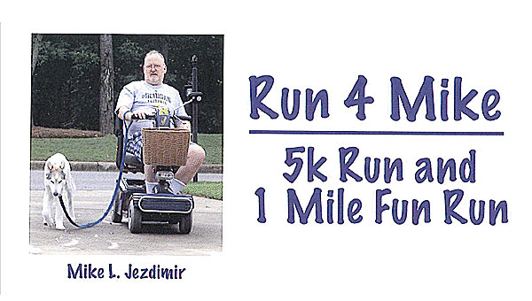 The Run 4 Mike race and fun run will be held on April 13 at Alabaster's Veterans Park. (Contributed)