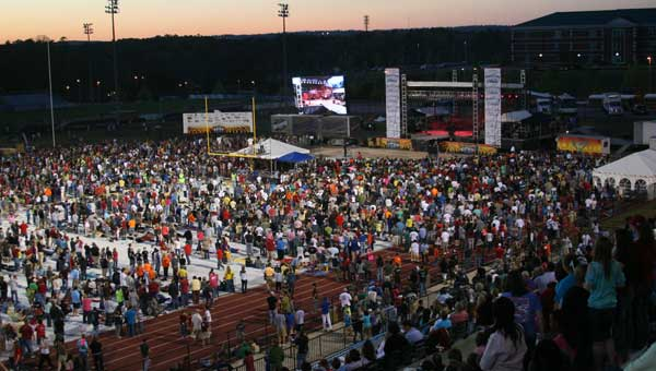 StadiumFest attracted 39,000 people in 2009. (Contributed photo.)