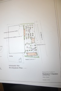 The architectural rendering of the proposed development of the former Moore Handley property in Pelham. (Contributed)