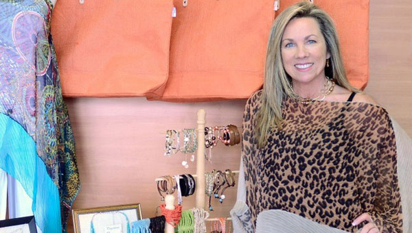 Owner Vicki Taylor in the new Elite Tan. (contributed)