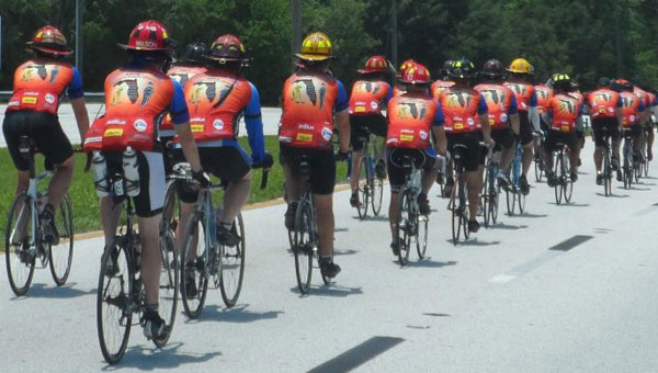 Sixth annual Brotherhood Ride will come through Calera May 8. (Contributed)