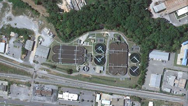 Alabaster will use savings from a recent bond refinancing to perform upgrades on the city's sewer treatment plant off U.S. 31. (Contributed)