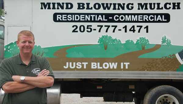 Alabaster resident Mike Miller owns the Mind Blowing Mulch company. (Contributed)