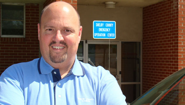 """""""Hub"""" Harvey is Shelby County's emergency management director. (contributed)"""