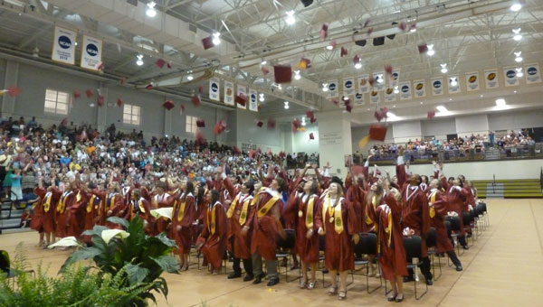 Shelby County High School had 114 graduates in its senior class. (Contributed)