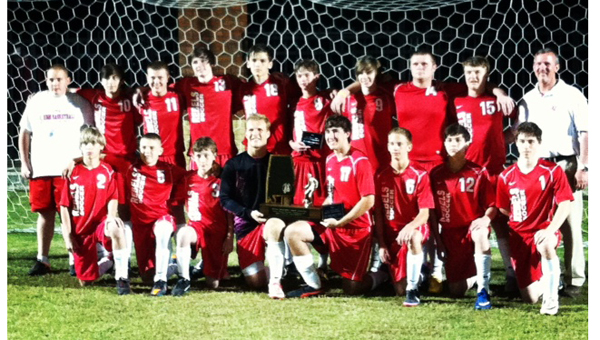 Coosa Valley Academy captured their first AISA State Championship in boys soccer April 16.