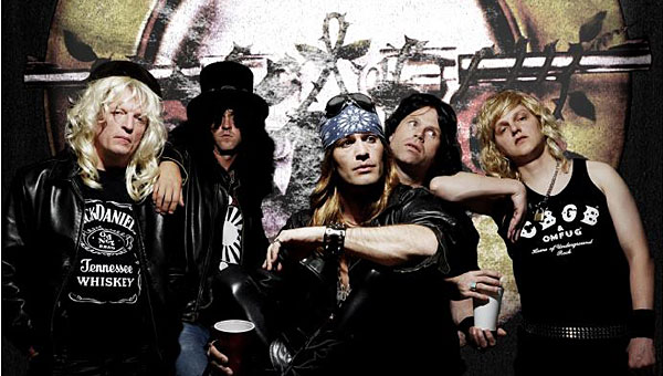 """Guns and Roses tribute band """"Guns 4 Roses"""" will join several other tribute bands at the Rewind Fest at Pelham's Oak Mountain Amphitheatre on Saturday, June 8. (Contributed/Oak Mountain Amphitheatre)"""