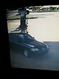 The suspects' vehicle, a black Nissan Sentra. (Contributed)