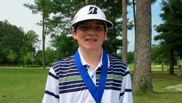 Alabaster's Jackson Singletary captured the USKG tournament at Eagle Point, battling nerve damage and chronic headaches stemming from a dirt bike accident in 2010. (Contributed/Meg Singeltary)