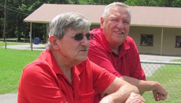 From left, Wayne Bunn and Bob Thames. (Contributed)
