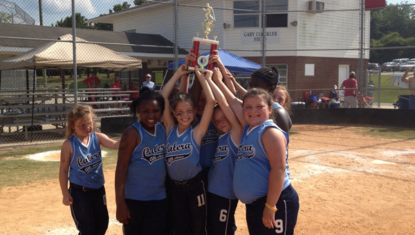 The Calera 8U All-Star Softball team took second place in the Thorsby Tournament June 13-15.