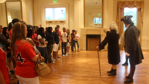 Students participating last summer in the Walsh Academy of Leadership at the American Village. (contributed)