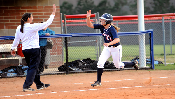 Oak Mountain's Caroline Seitz is the 2013 Shelby County Reporter All-County Softball Player of the Year.