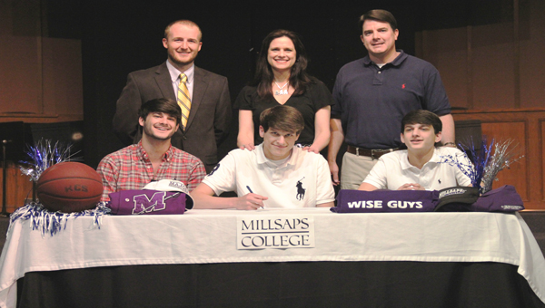 Kingwood senior Daniel Fillingim signed a scholarship to play basketball with Millsaps in the fall.