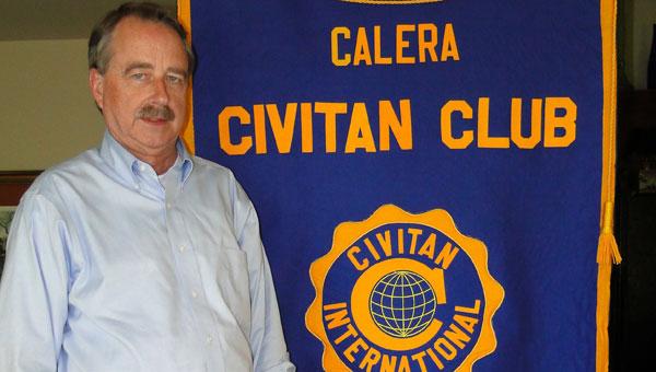 Calera Civitan Club President Larry Fikes. (contributed)