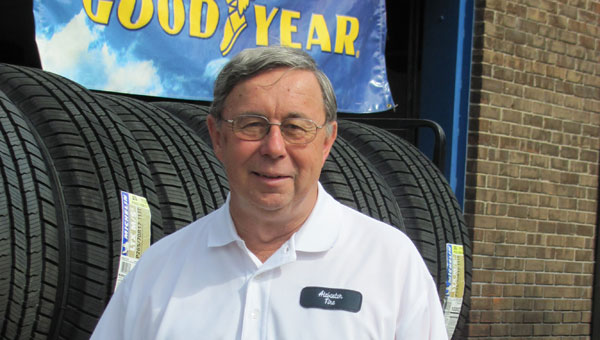 Wayne Weathers has been involved with what is now Alabaster Tire for many years. (Contributed)