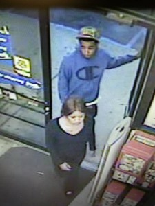 The Pelham Police Department is searching for these two individuals. (Contributed)