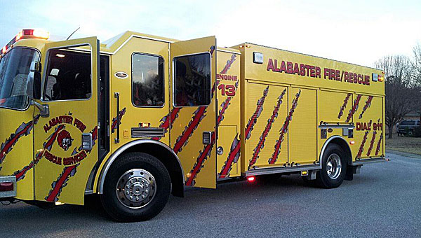 The Alabaster Fire Department could soon see new waterproof seals on stations No. 2 and No. 3 if the project is approved by the Alabaster City Council. (Contributed)