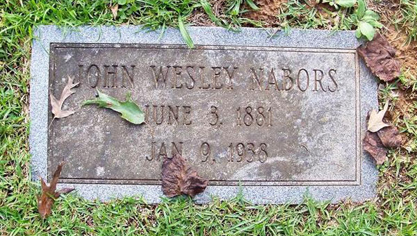 Alabaster police officer Dewey Webb is collecting information on the city's past law enforcement officers, including John Wesley Nabors, who was killed in the line of duty in 1938. (Contributed)