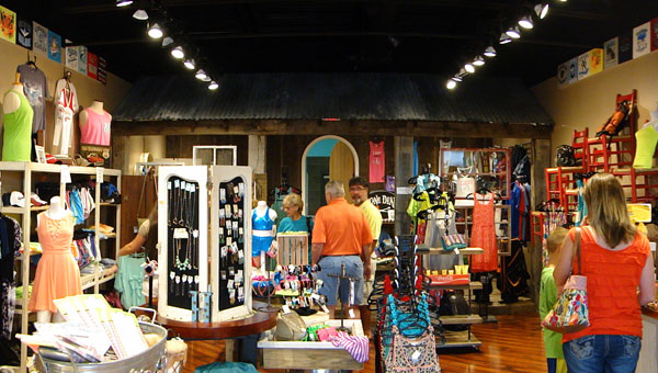 PODOS Ink & Thread is a boutique screen printing and embroidering shop located in the Publix Shopping Center in Calera. (contributed)