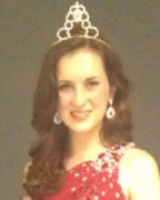 Reigning Little Miss Shelby County Chloe Blanton. (contributed)