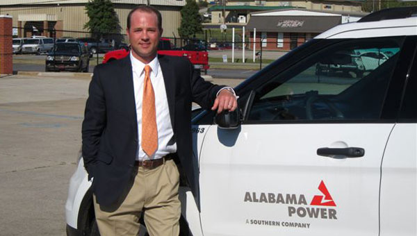 T.J. Fincher works at the Pelham office of Alabama Power Co. (contributed)