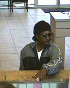 Hoover Police are searching for this man, who is a suspect in a bank robbery. (Contributed)