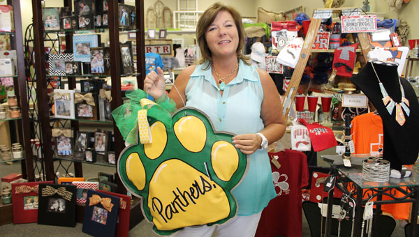 Paige Burnett, owner of Gifted, has an impressive selection of Pelham Panther and other unique gift items. (Contributed)