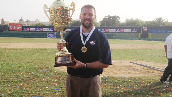 Alabaster native Brooks Webb is the Director of the United States 15U National Baseball team. (Contributed)