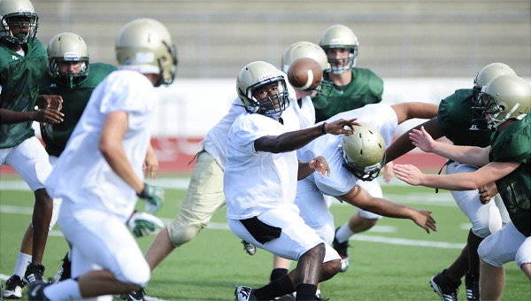 The Pelham Panthers will take on the Tuscaloosa County Wildcats in a road preseason matchup Aug. 23 (Reporter Photo/Jon Goering)