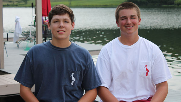 Young entrepreneurs Carson Rector and Logan Burnett are a southern start-up team. (Contributed)