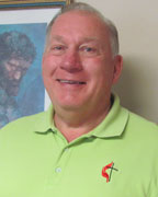Mike Densmore has been the senior pastor at Alabaster's First United Methodist Church since 2012. (Contributed)