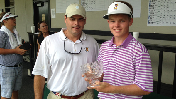 Connor Slane capped off a successful junior golf career by capturing the Alabama Junior Amateur Championship held in Mobile.