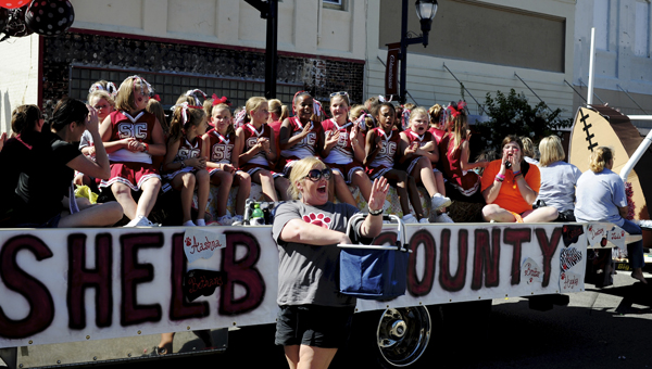 The annual Shelby County High School homecoming parade is scheduled for Oct. 4 at 1:45 p.m. (Reporter Photo/Jon Goering)