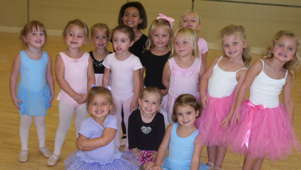 Front from left, Tiny Dancers Emme Breeden, Merci Bennett, Sue Ellen Bensinger. Back from left Lilly Anne Feathers, Dylan Zanotti, Bailey Cruz, Hadasah Waters, Ashanti Anumene, Addisyn Dorough, Madelyn Hain, Ava King, Cariann Beatty and Camille Beatty. (contributed)