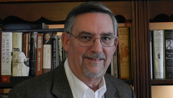 Retired Assistant U. S. Attorney, Chief of Civil Division turned author Jim Lewis of Shelby County has written a history of early Alabama. (contributed)